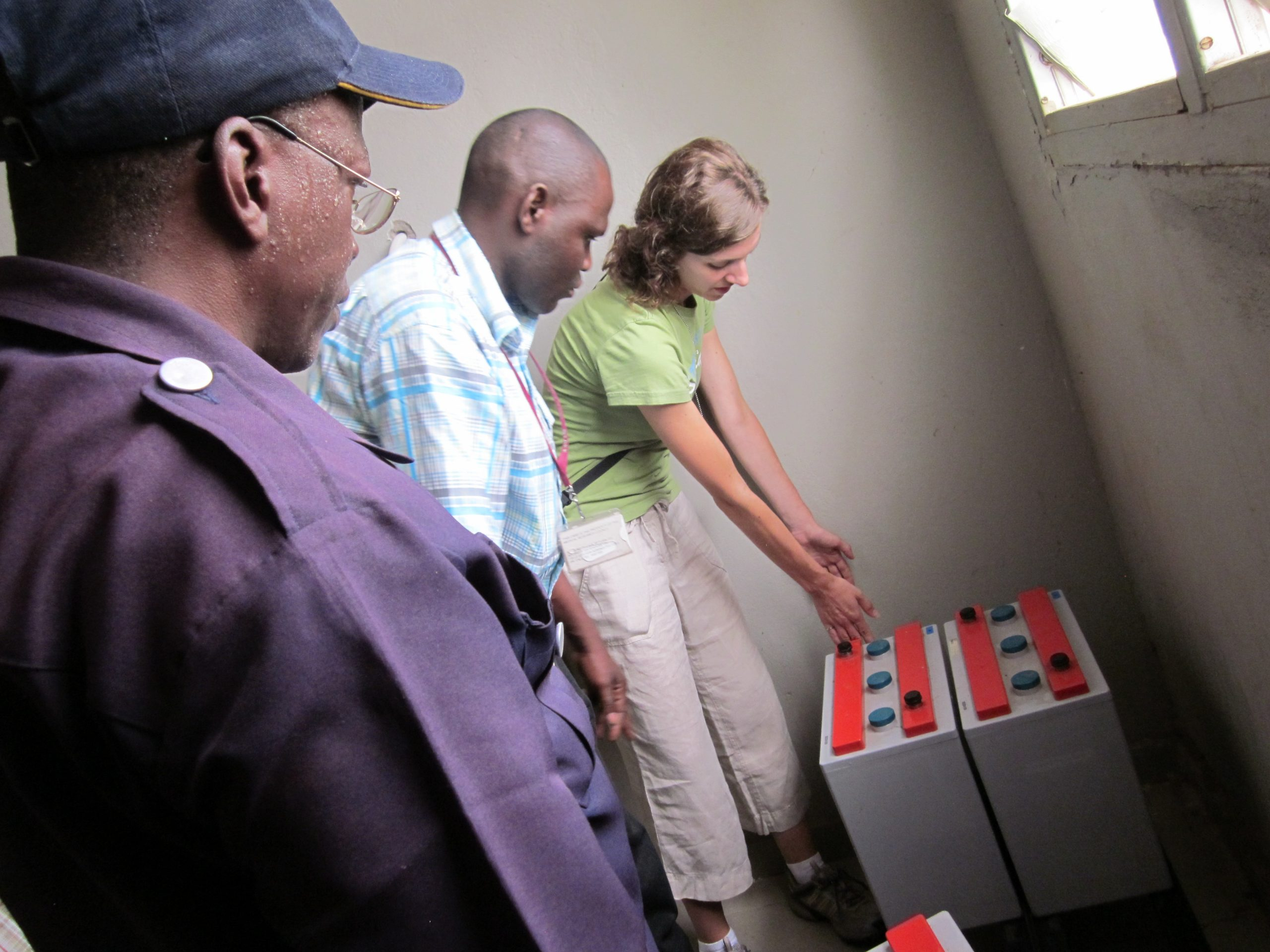 Medical Oxygen Delivery in the Gambia